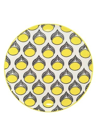 Warm Design Handmade Seramik Tabak Renkli